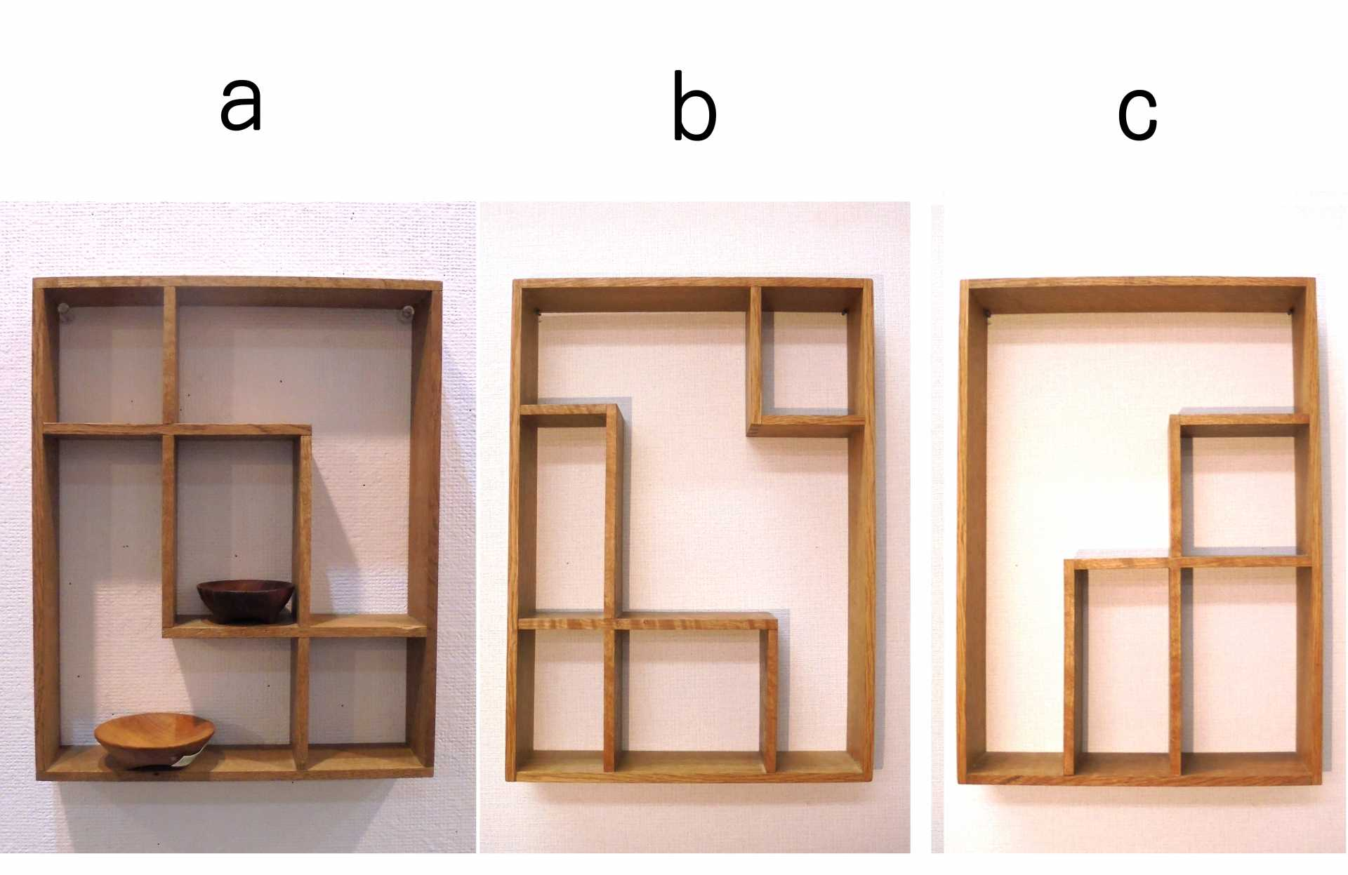 違い棚【01-9905】a,b,c